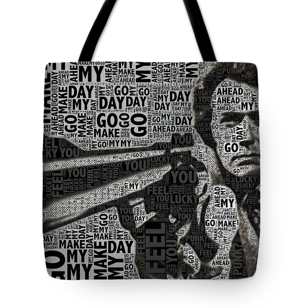 Clint Eastwood Dirty Harry Tote Bag