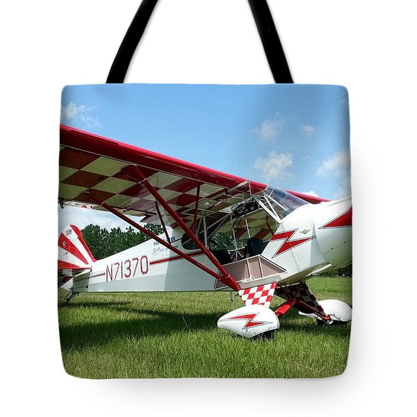 Clipped Wing Cub Tote Bag by Matt Abrams