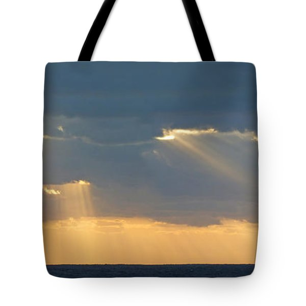 Clipper On The Ocean Tote Bag