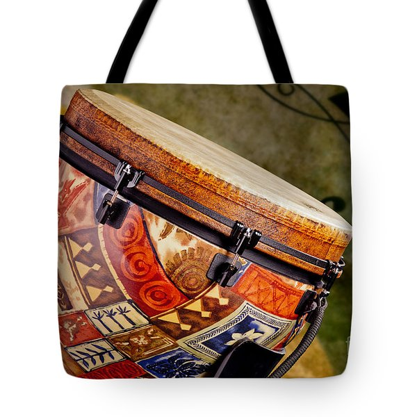 Clissic Djembe African Drum Photograph In Color 3334.02 Tote Bag