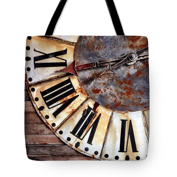 Clock Numbers Tote Bag