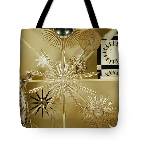 Clocks Hanging On The Wall Tote Bag
