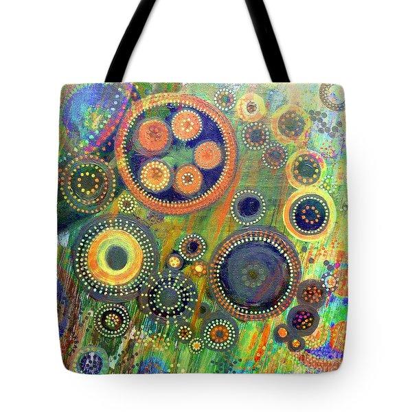Clockwork Garden Tote Bag