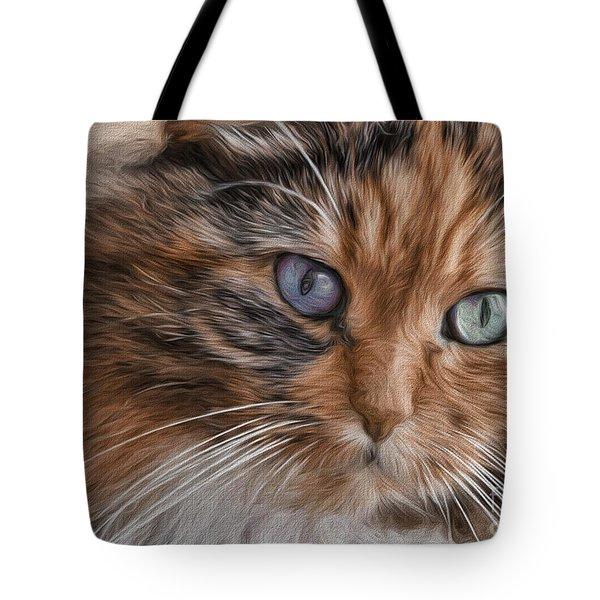 Cloe Kitty Tote Bag