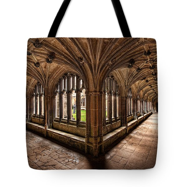 Cloisters At Lacock Abbey Tote Bag