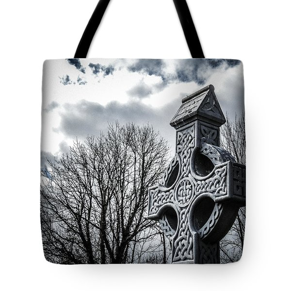 Clondegad Celtic Cross Tote Bag