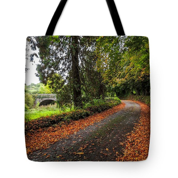 Clondegad Country Road Tote Bag