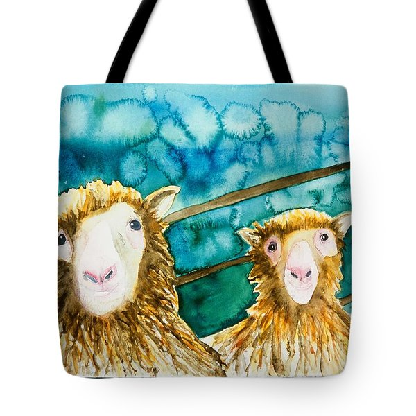 Cloning Around Tote Bag