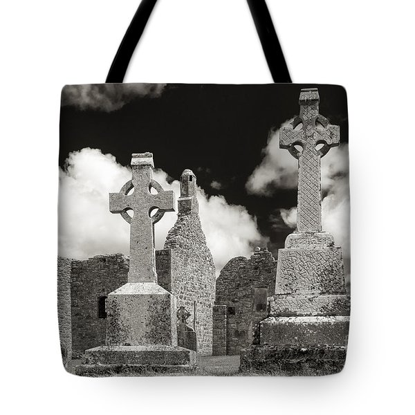 Clonmacnoise Tote Bag by Juergen Klust