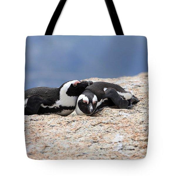 Close Bonds Tote Bag by Aidan Moran