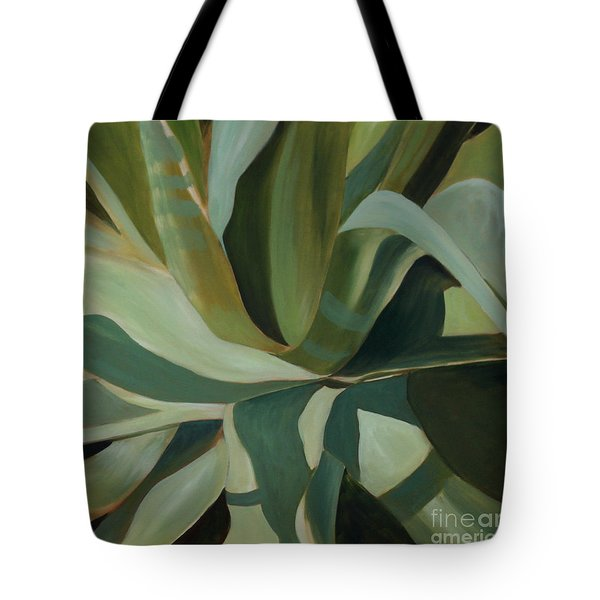 Close Cactus Tote Bag by Debbie Hart