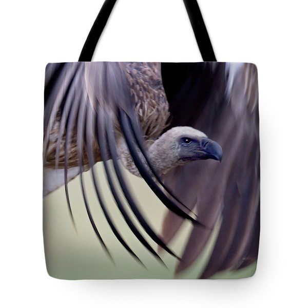 Close-up Of A White-backed Vulture Tote Bag
