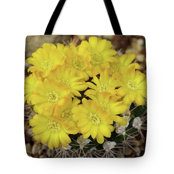 Close-up Of Wildflowers Tote Bag