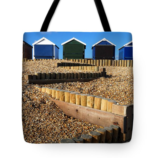 Closed For The Winter Tote Bag by Wendy Wilton