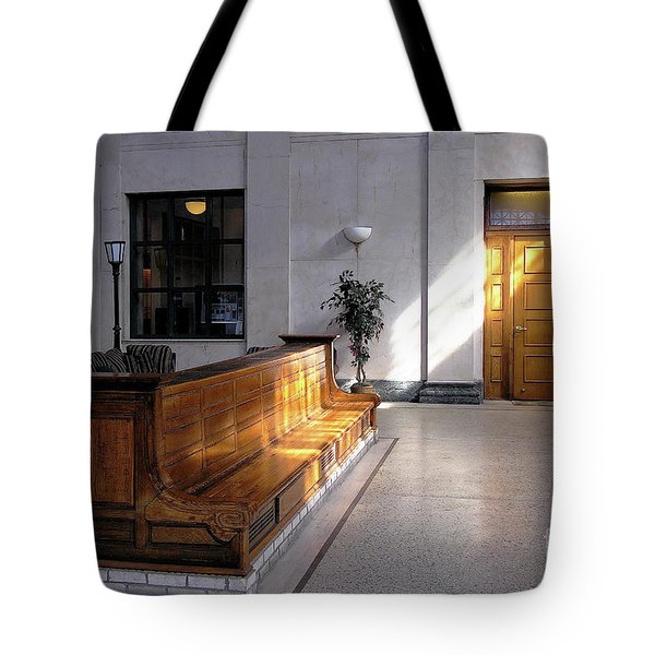 Closed Railroad Station - Johnstown Pa Tote Bag