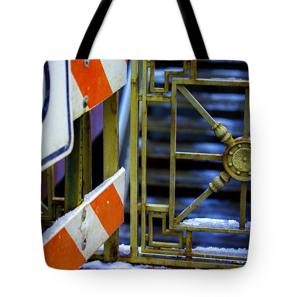 Closed Walkway Tote Bag