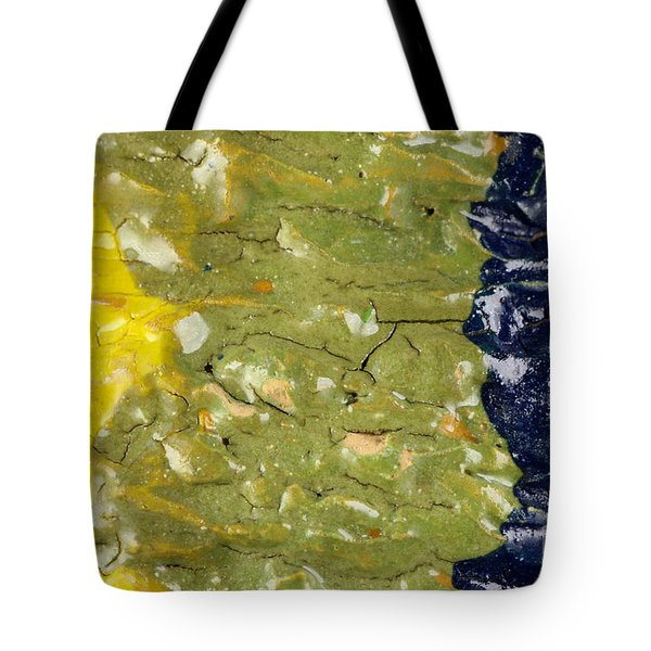 Closeup Of Glazed Ceramics Tote Bag by Kerstin Ivarsson