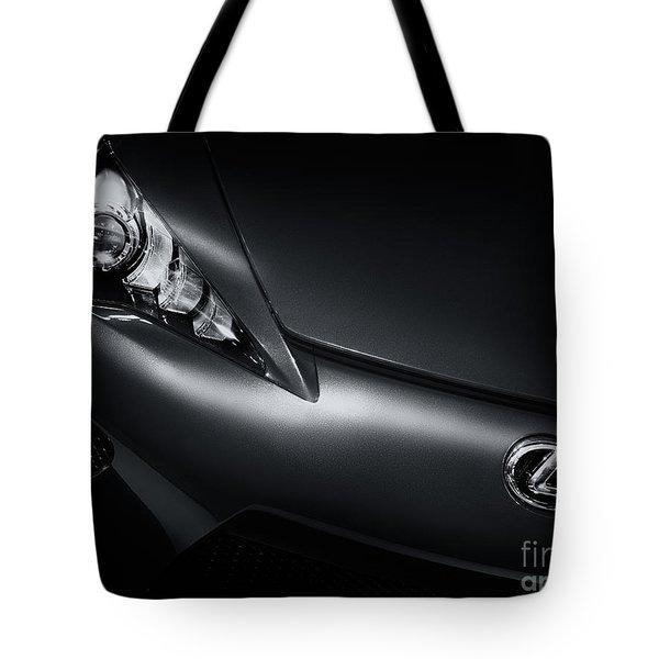 Closeup Of Lexus Lfa Car Tote Bag