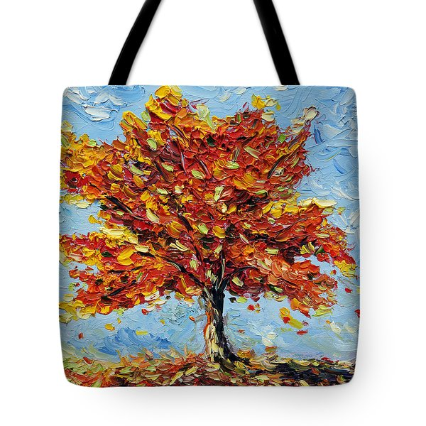 Tote Bag featuring the painting Clothed With Joy by Meaghan Troup