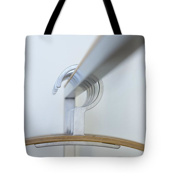 Clothes Hangers Tote Bag by Mats Silvan