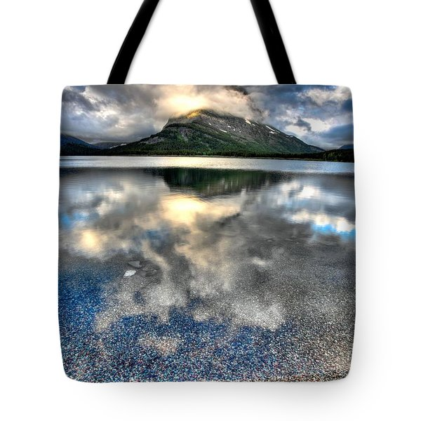 Tote Bag featuring the photograph Cloud Catcher by David Andersen