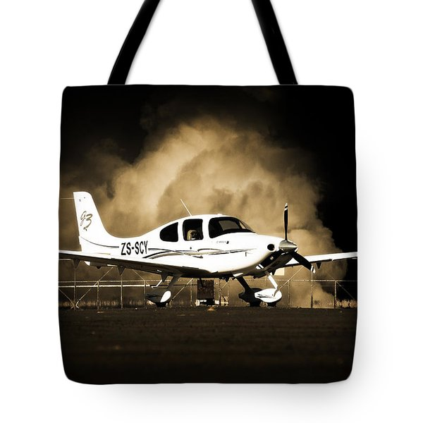 Cloud Cirrus Tote Bag