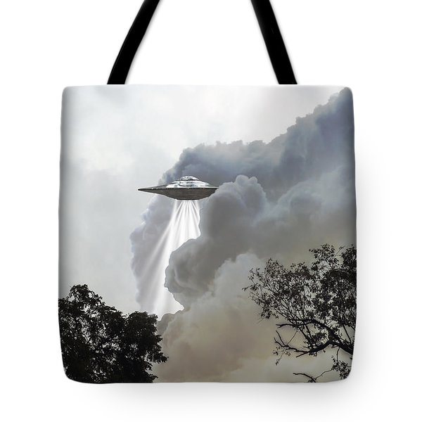 Cloud Cover Tote Bag