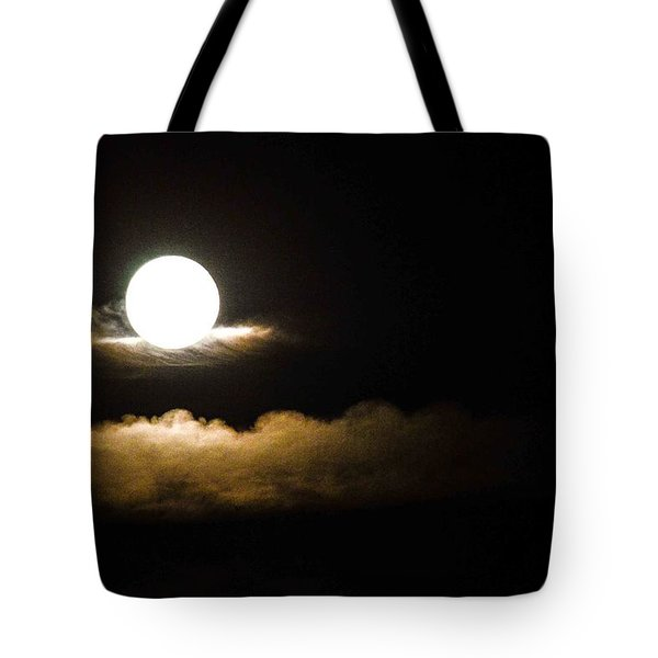 Cloud Cradle  Tote Bag by Mary Ward