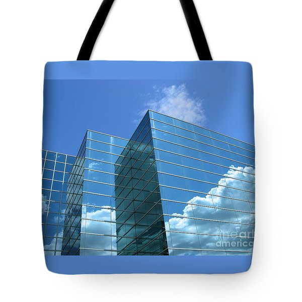 Tote Bag featuring the photograph Cloud Mirror by Ann Horn