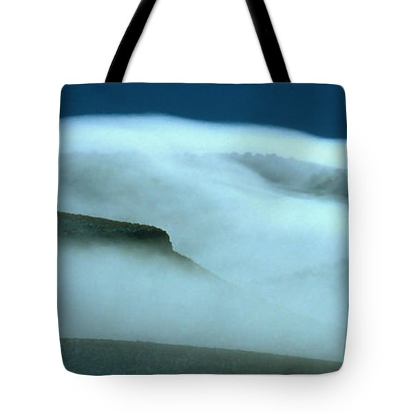 Cloud Mountain Tote Bag by Ed  Riche