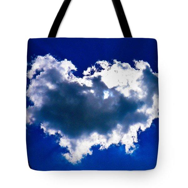 Cloud Tote Bag by Nick Kirby