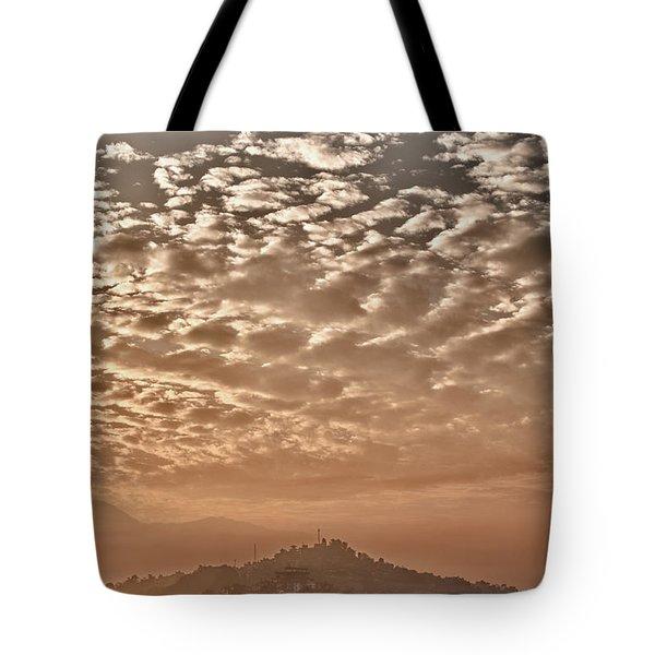 Cloud Over Kathmandu Tote Bag