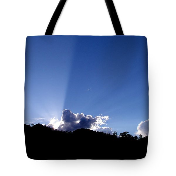 Cloud Rays Tote Bag