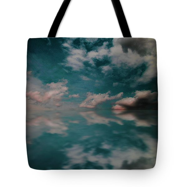 Tote Bag featuring the photograph Cloud Reflections by John Stuart Webbstock