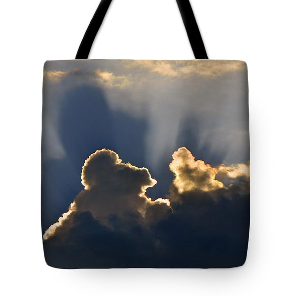 Tote Bag featuring the photograph Cloud Shadows by Charlotte Schafer