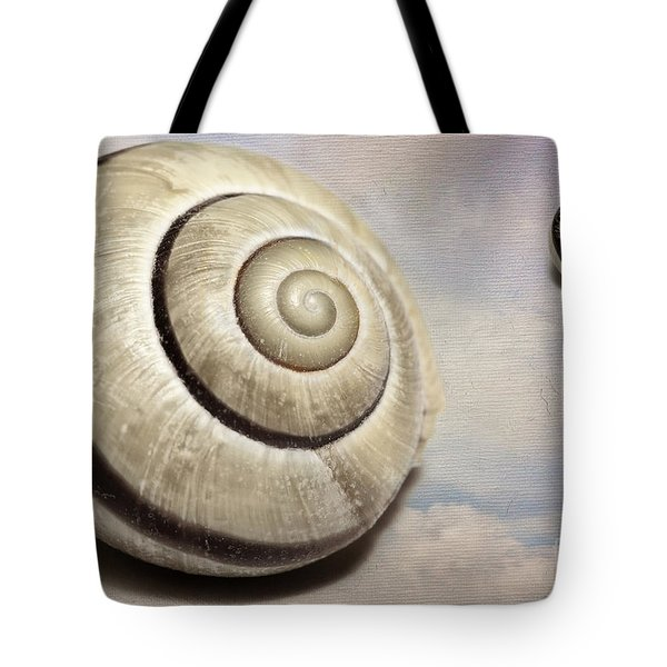 Cloud Shells Tote Bag