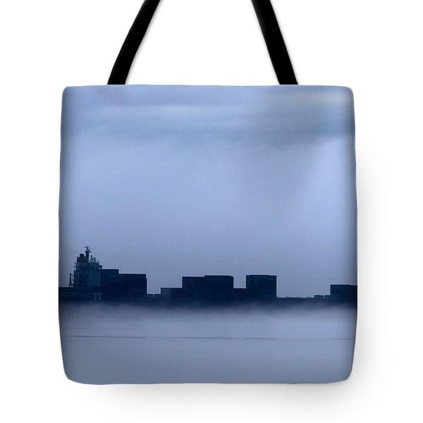 Cloud Ship Tote Bag