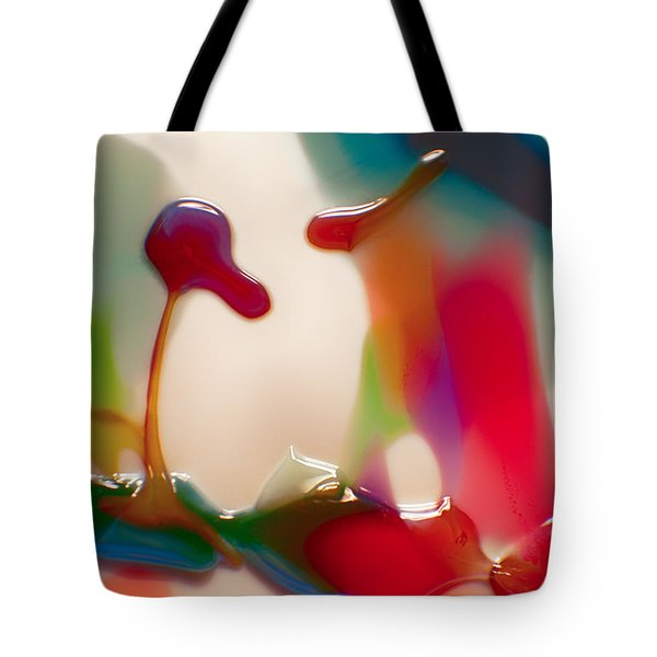 Cloud Talking Tote Bag by Omaste Witkowski
