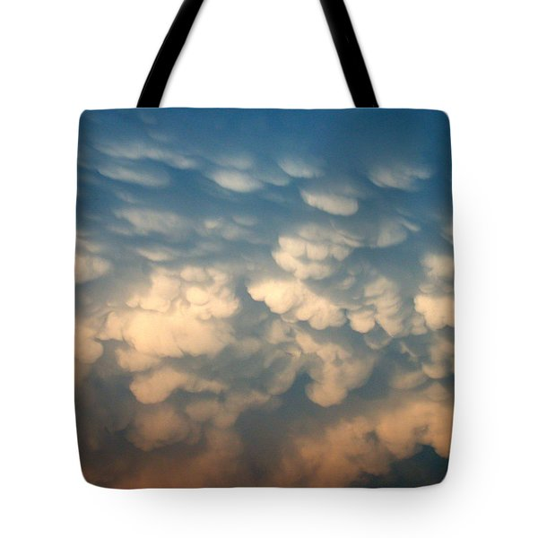 Cloud Texture Tote Bag