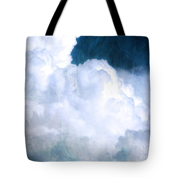 Clouds And Ice Tote Bag