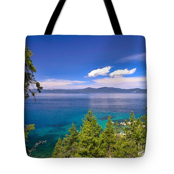 Clouds And Silence - Lake Tahoe Tote Bag