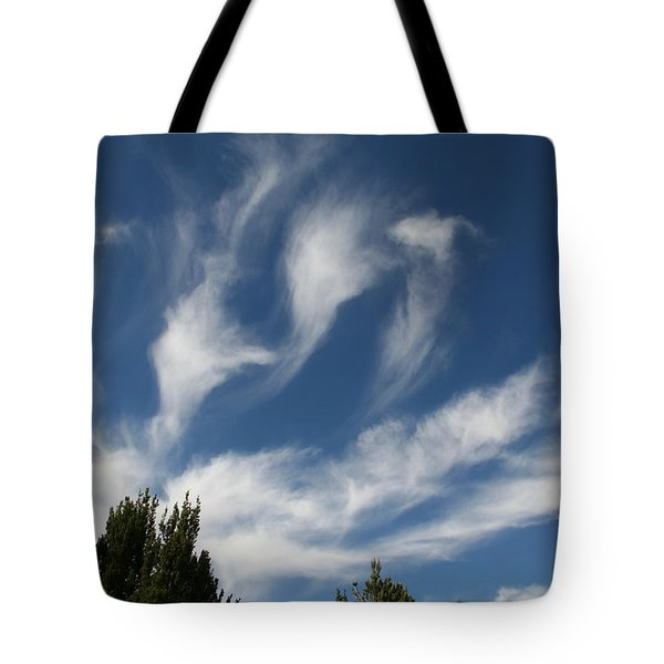 Tote Bag featuring the photograph Clouds by David S Reynolds