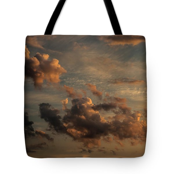 Tote Bag featuring the photograph Clouds For Rembrandt by Julis Simo