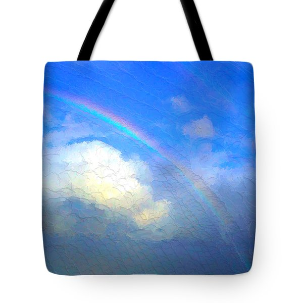 Clouds In Ireland Tote Bag by Bruce Nutting