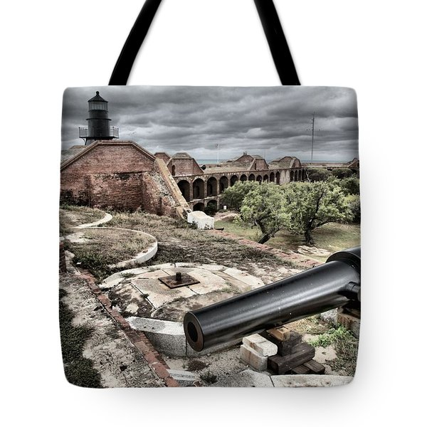 Clouds In The Keys Tote Bag by Adam Jewell