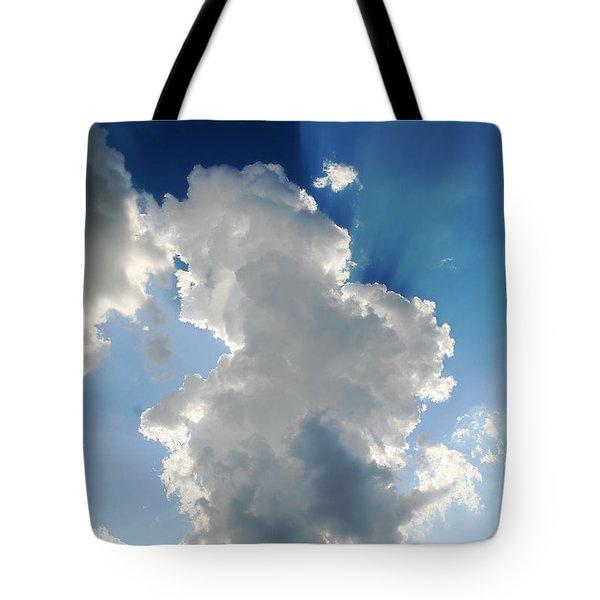 Clouds In The Sun Tote Bag