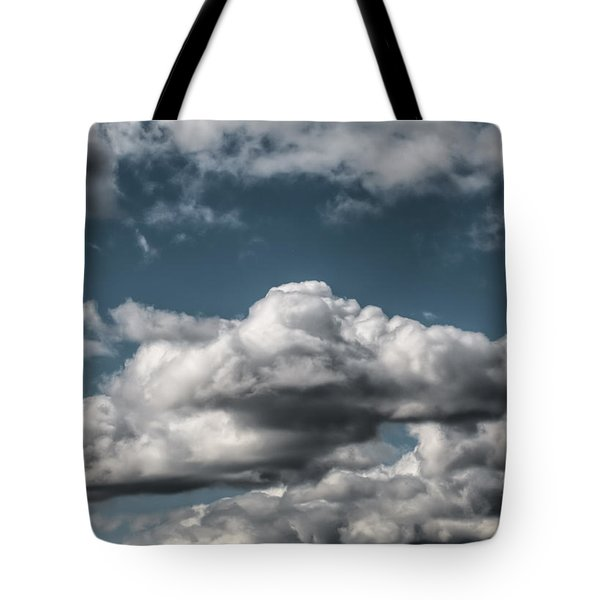 Tote Bag featuring the photograph Clouds by Leif Sohlman