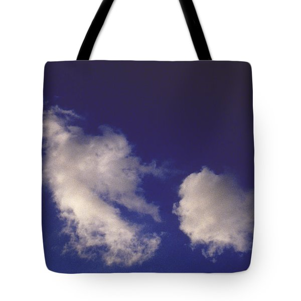 Tote Bag featuring the photograph Clouds by Mark Greenberg