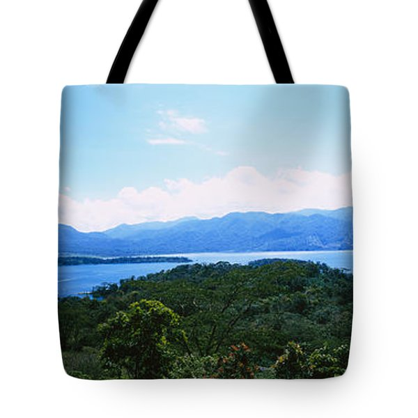 Clouds Over A Volcano, Arenal Volcano Tote Bag