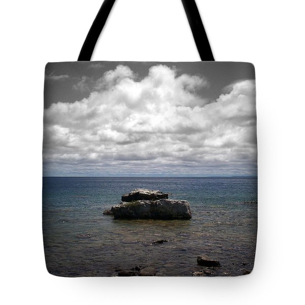 Clouds Over Georgian Bay - F2g Tote Bag
